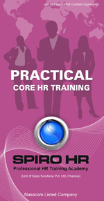 Spirohr, Payroll Management, Core hr training, pratical core payroll, payroll software solutions, HR Training Academy